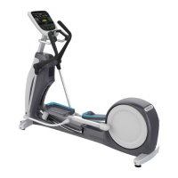PRECOR Experience Series 830 Line Elliptical Fitness Crosstrainer EFX835 V2