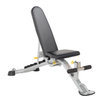 HOIST Home Bench Systems & Freeweight Products HF-5165