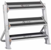 HOIST Home Bench Systems/Freeweight Products 36 Horizontal Dumbbell Rack HF-5461-36