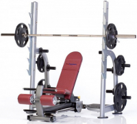 TUFF STUFF Proformance Plus 4-Way Linear-Action Olympic Bench PPF-711