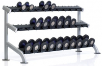 TUFF STUFF Proformance Plus 3-Tier Saddle Dumbbel Rack PPF-754