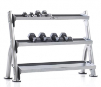 TUFF STUFF Evolution 2-Tier Tray Dumbbell/Kettle Bell Rack CDR-300