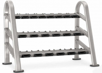 STAR TRAC Instinct Series 10 pair 3 tier DB rack 9IN-R8002